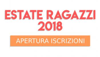 Apertura iscrizioni Estate Ragazzi