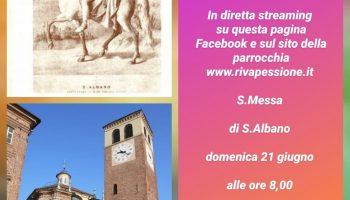 Festa di Sant'Albano diretta streaming